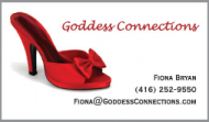 Goddess Connection Business Card