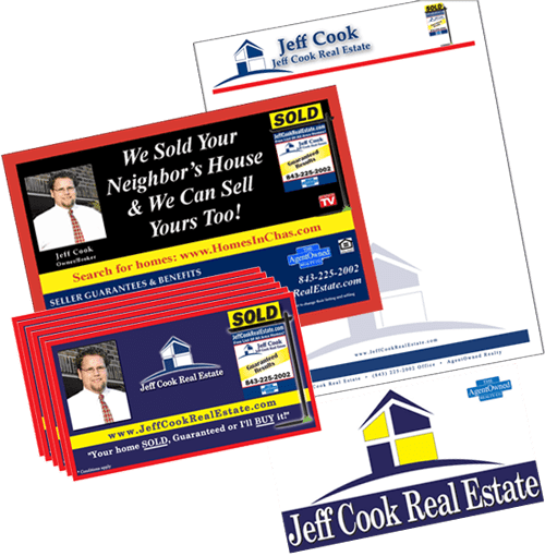 Azalea Creations, formerly Sally's Virtual Solutions, Proudly Branded Jeff Cook Real Estate